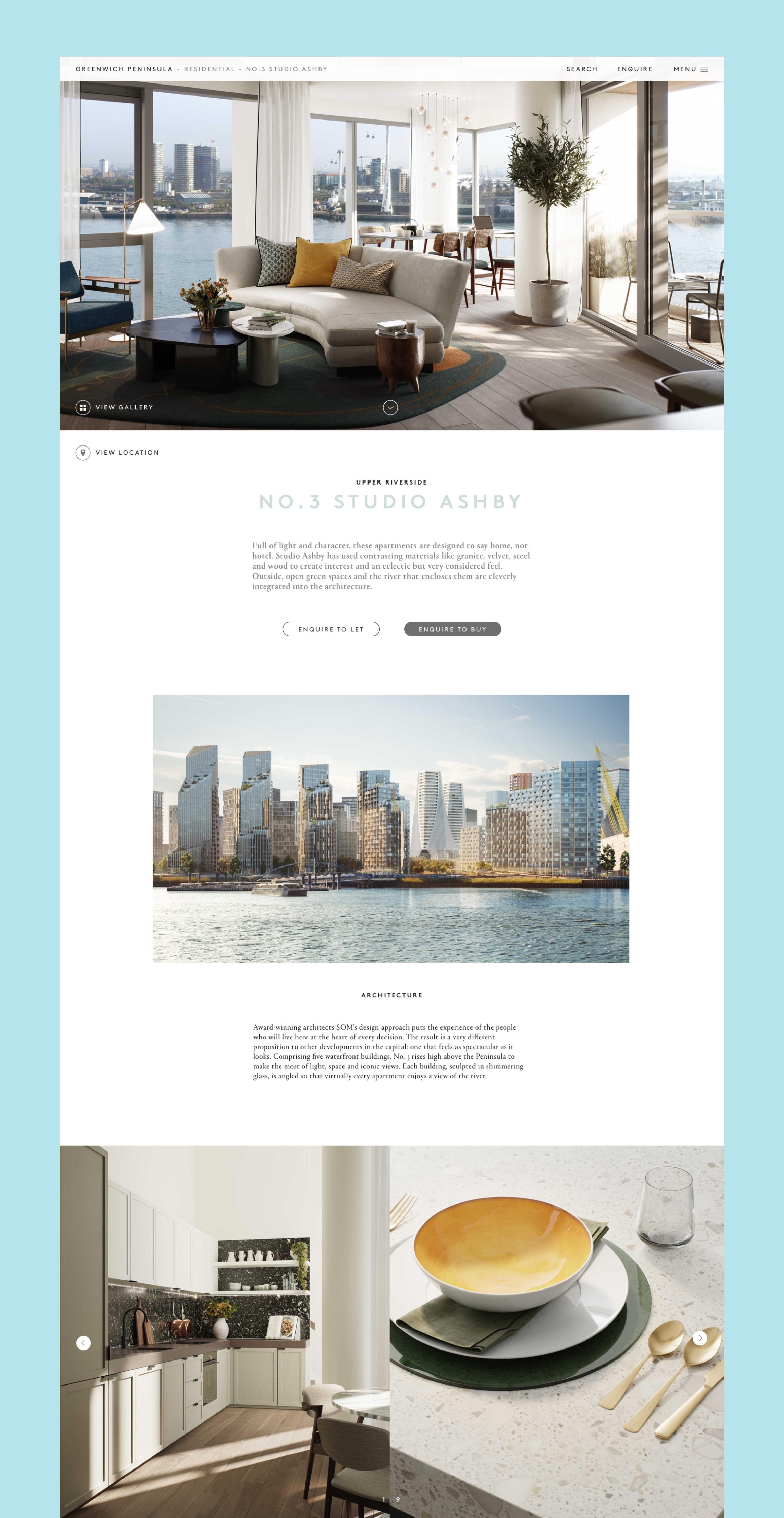 Ben David Sandhu Greenwichpeninsula product page